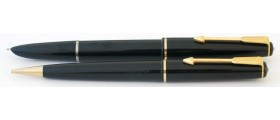 PA2571 Parker 17 Lady Fountain Pen and Pencil Set, boxed.  (Medium)