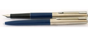PA2595 Parker 15 Fountain Pen and Ballpoint Set, boxed (Medium)