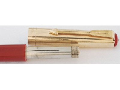 PA2602 Parker 17 Lady Deluxe Fountain Pen and Pencil Set.  (Medium)