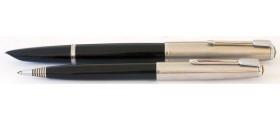 PA2606 Parker 51 Aerometric Fountain Pen and Pencil Set, boxed (Generous Medium)