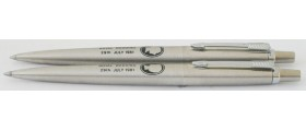 PA2647 Parker Jotter Royal Wedding Special Edition Ballpoint Set, boxed.