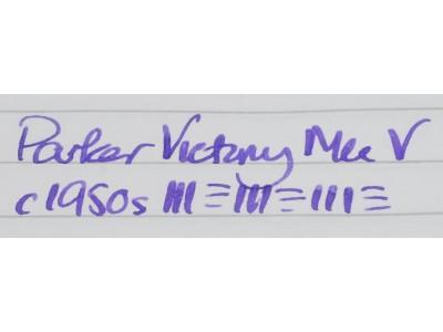 PA2683 Parker Victory Mk. V.  (Soft Medium)