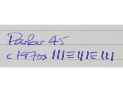 PA2695 Parker 45. (Medium)