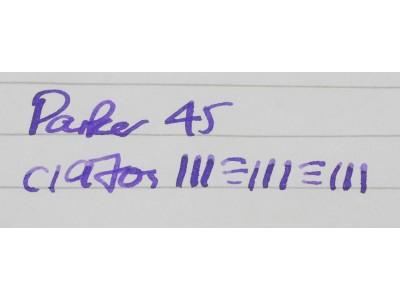 PA2696 Parker 45. (Medium)