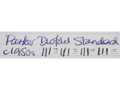 PA2792 Parker Duofold Standard (Soft Medium)