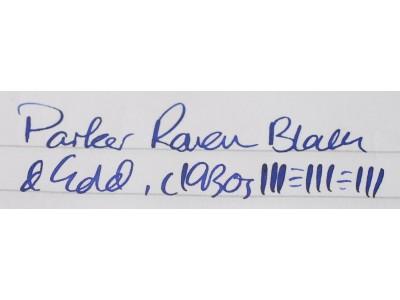 PA2837 Parker Raver Black & Gold. (Soft Fine)