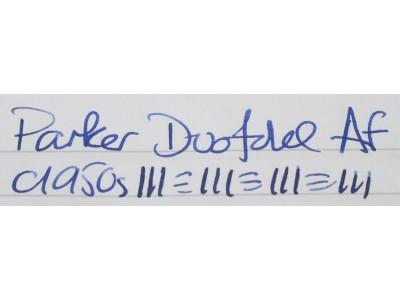 PA2852 Parker Duofold AF (Fine)