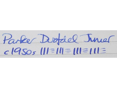 PA2853 Parker Duofold Junior. (Soft Fine)