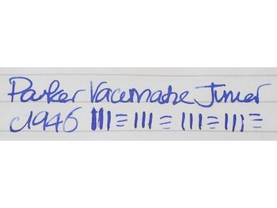 PA2857 Parker Vacumatic Junior Fountain Pen and Pencil Set.  (Medium)