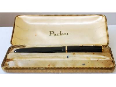 PA2863 Parker Duofold Senior, boxed. (Medium)