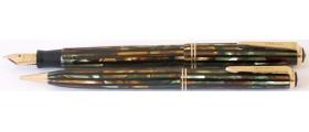 PA2865 Parker Duofold Junior Fountain Pen and Pencil Set.  (Medium-Fine)
