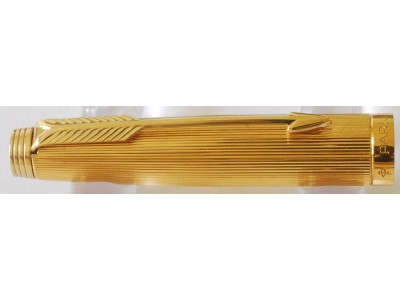 PA2908 Parker 75 Milleraies Gold Plated Rollerball.