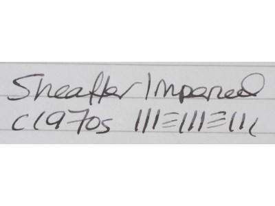 SH1517 Sheaffer Imperial Triumph. (Fine)