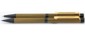 SH1543 Targa by Sheaffer No. 675 Regency Stripe Ballpoint and Pencil Set.
