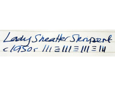 SH1566 Lady Sheaffer Skripsert.  (Medium)