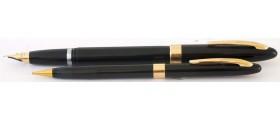 SH1623 Sheaffer AS9 Imperial Touchdown Fountain pen and Pencil Set.  (Medium)