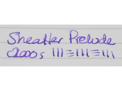 SH1656 Sheaffer Prelude.  (Medium)