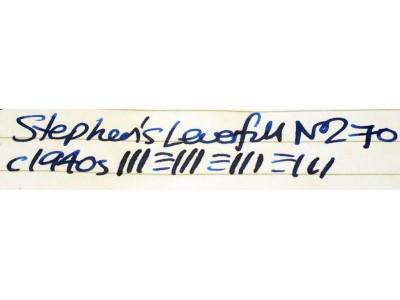 ST026 Stephen's Leverfil No. 270. (Soft Broad)