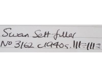 SW653 Swan Self-Filler No. 3162 (Medium-Fine)