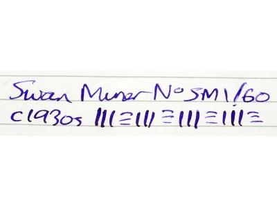SW689 Swan Minor No. SM 1/60.  (Soft Fine)