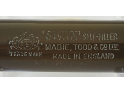 SW725 Swan Self-Filler No. 3350.  (Soft Medium-Fine).