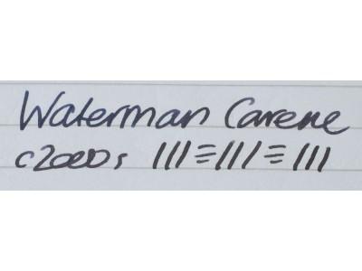 WA581 Waterman Carene.  (Medium)