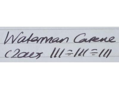 WA583 Waterman Carene.  (Medium)