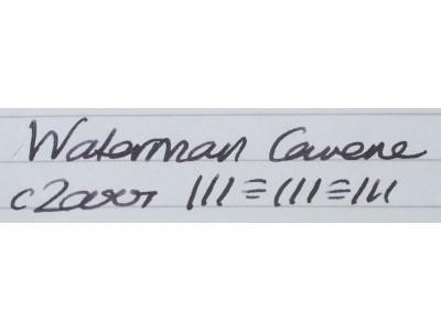 WA584 Waterman Carene.  (Medium)