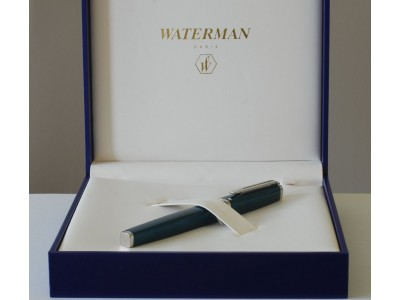 WA597 Waterman Exception Rollerball, boxed.