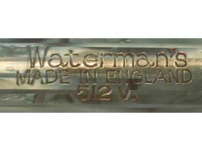 WA601 Waterman No. 512V. (Fine)