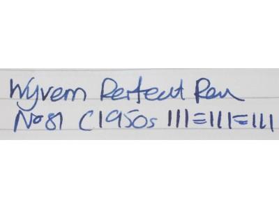 WY079 Wyvern Perfect Pen No. 81 (Medium)