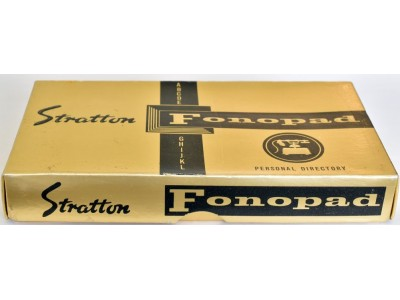AC594 Stratton Fonopad Personal Directory, boxed.