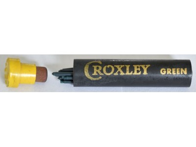 AC595 Croxley Leads, Green, 1.18mm, per pack of 6