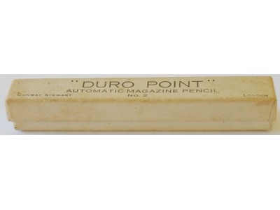 CS908 Conway Stewart Duro-Point No. 2 Pencil, boxed.