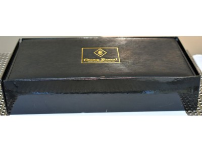 CS946 Conway Stewart Wellington Marble Ice Special Edition, boxed. (Soft Fine)