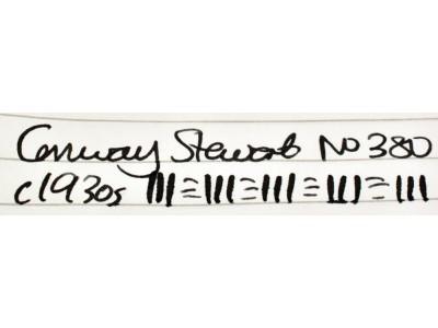 CS949 Conway Stewart No. 380.  (Soft Medium)