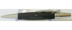 FC016 Faber-Castell E-Mtion Ballpoint, Pearwood Black, boxed.