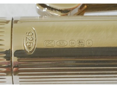 LB011 Laban Sterling Silver Ballpoint, boxed.