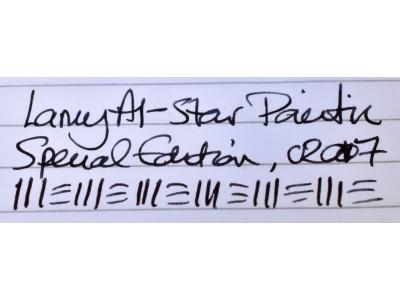 LM044 Lamy Al-Star Fountain Pen, Pacific 2017 Special Edition, boxed. (Fine)