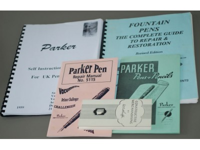 MS679 Small Collection of Pen Repair Manuals