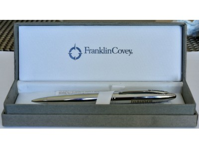 MS709 Franklin Covey Advertising pencil, boxed.
