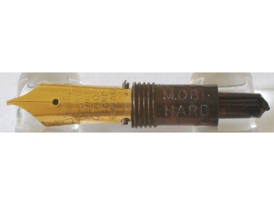 OS034 Osmiroid Interchangeable Nib Unit, Left Hand Medium Oblique Hard Rolatip