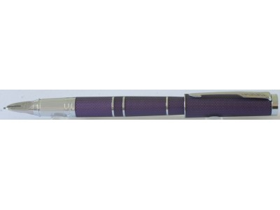 PA2976 Parker Ingenuity Luxury Slim Blue Violet with Chrome Trim, boxed.
