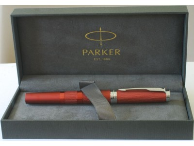 PA2977 Parker Ingenuity Luxury Line Deep Red with Chrome Trim, boxed