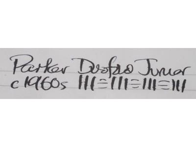 PA2984 Parker Duofold Junior (Semi-Flexible Medium)