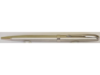 PA3059 Parker Sonnet Stainless Steel Ballpoint, boxed.