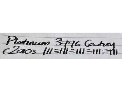 PL039 Platinum 3776 Century. (Music)