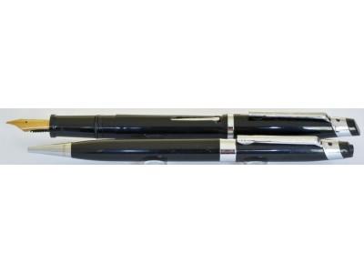 SC046 Scripto Fountain Pen and Pencil Set, boxed (Medium)