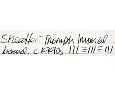SH1765 Sheaffer Triumph Imperial No. 444, boxed.  (Fine)