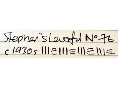 ST032 Stephen's Leverfil No. 76. (Medium)